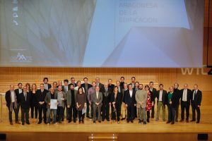 """NdP """"La I Gala Aragonesa de la Edificación premia la innovación y la sostenibilidad en beneficio de la salud de los usuarios"""""""