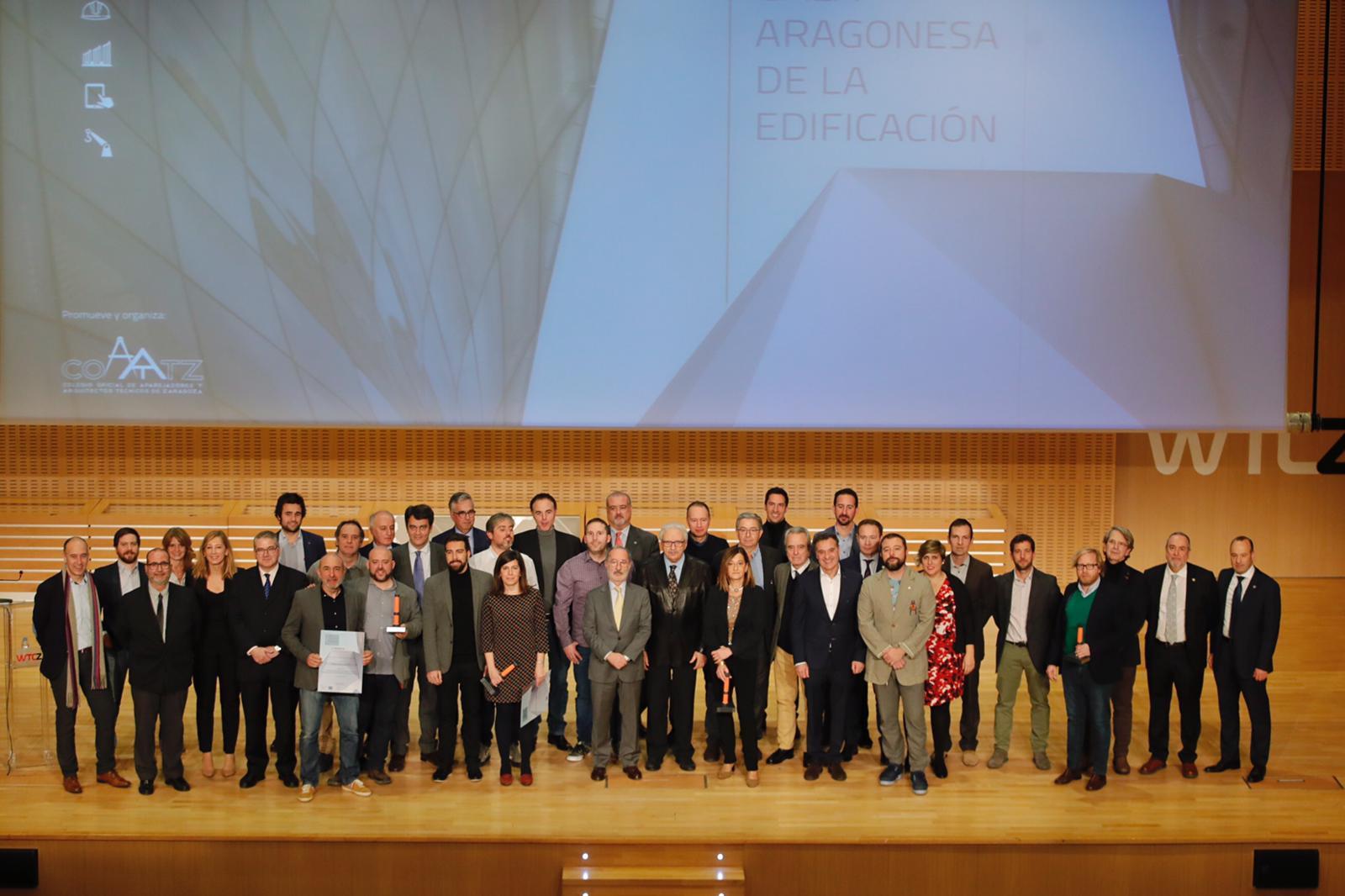 NdP «La I Gala Aragonesa de la Edificación premia la innovación y la sostenibilidad en beneficio de la salud de los usuarios»
