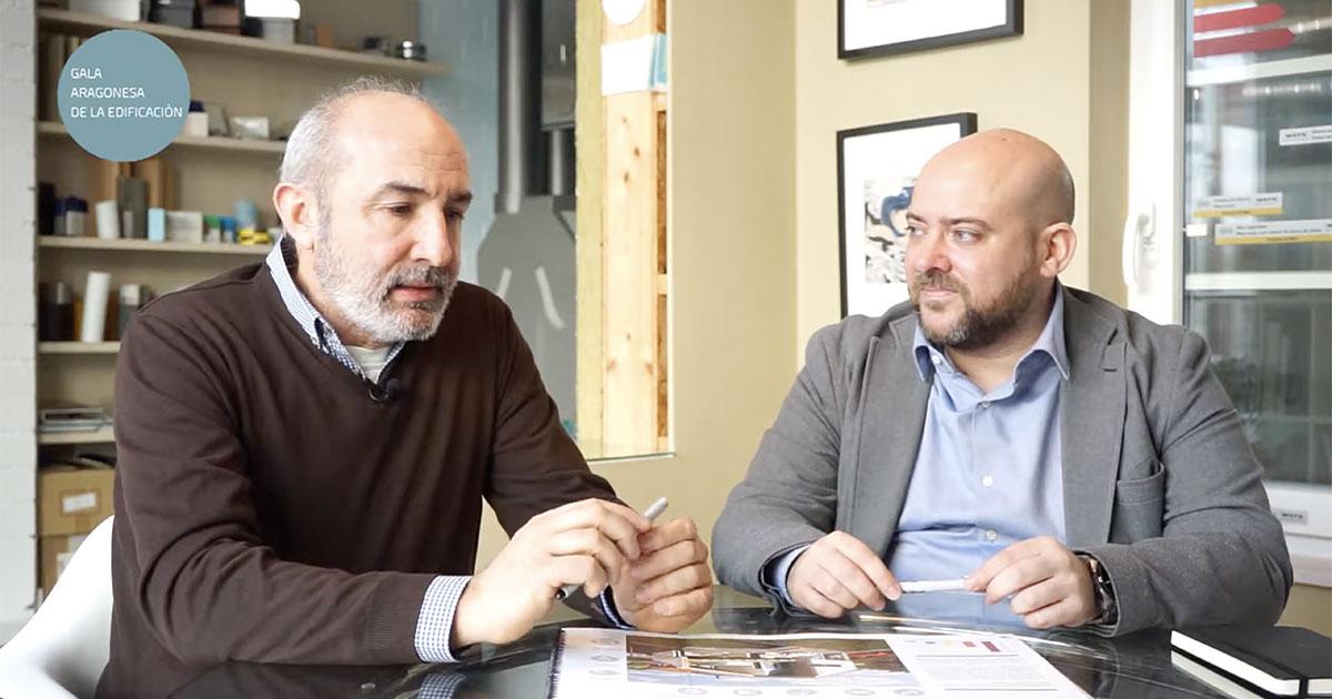 Mejor iniciativa de edificación sostenible en Aragón