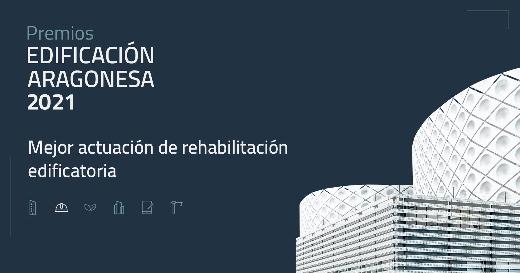 Presentación del jurado para la elección del Premio Mejor actuación de rehabilitación edificatoria.